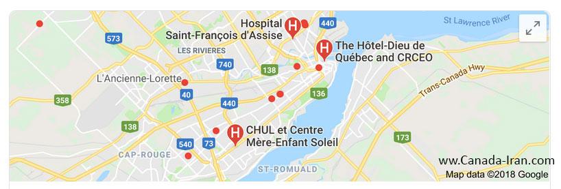 بیمارستانهای کبک و مشکل پذیرش بخش اورژانس quebec hospitals بیمارستانهای کبک کانادا درمان در کانادا بیمارستان کبک بیمارستانهای کبک و مشکل پذیرش بخش اورژانس quebec hospitals